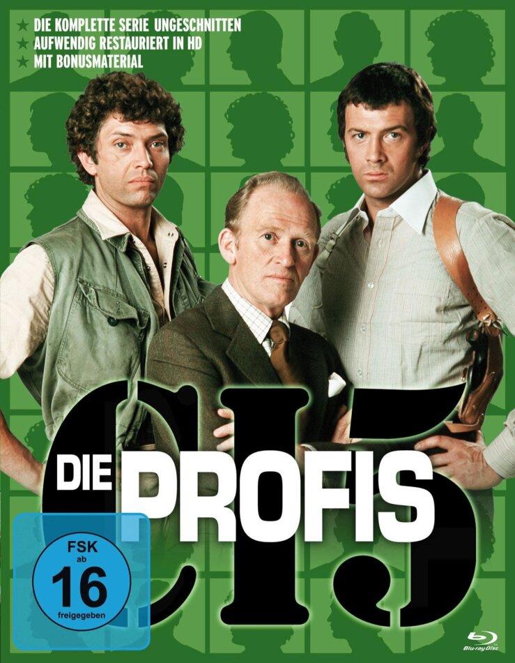 Die Profis - Die komplette Serie (17 Blu-rays)