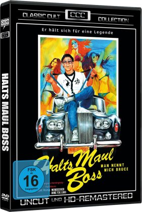 Halts Maul Boss - Man nennt mich Bruce (1982) (HD-Remastered, Classic Cult Collection, Uncut)
