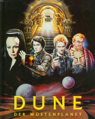 Dune - Der Wüstenplanet (1984) (Cover B, Mediabook, 4K Ultra HD + Blu-ray)