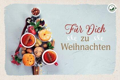 Für Dich zu Weihnachten - Teekarten