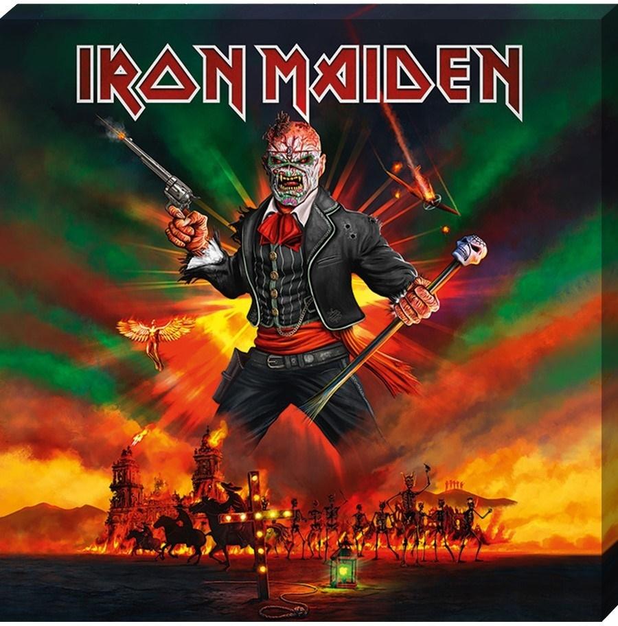 Iron Maiden - Canvas Print