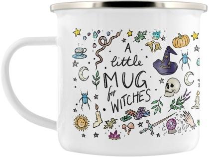 A Little Mug for Witches - Enamel Mug