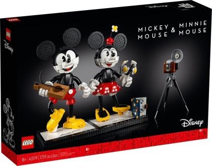 LEGO 43179 Disney - Micky Maus und Minnie Maus