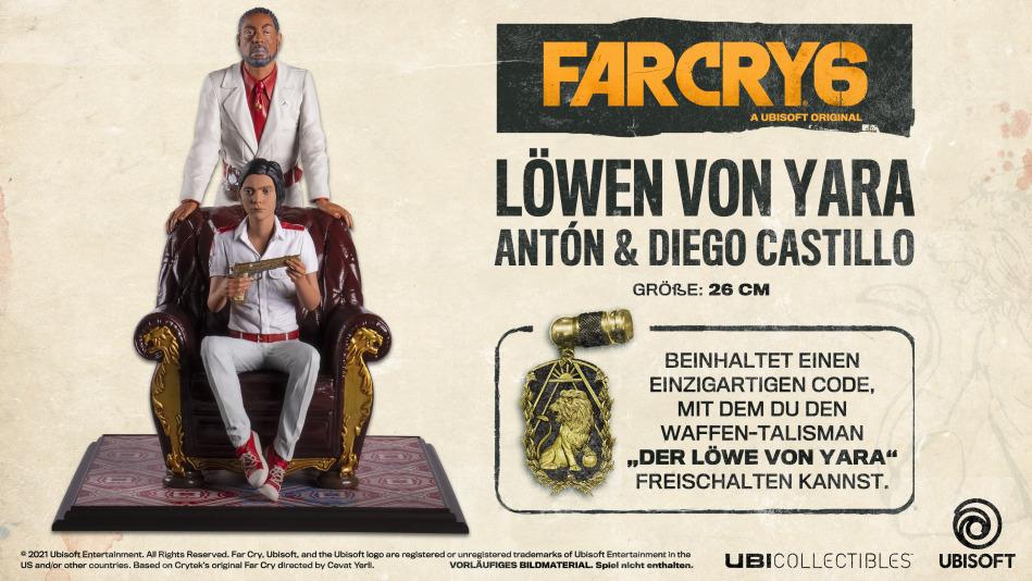 Far Cry 6 - Löwen von Yara, Antón & Diego Castillo Figur (PlayStation 5 + Xbox Series X)