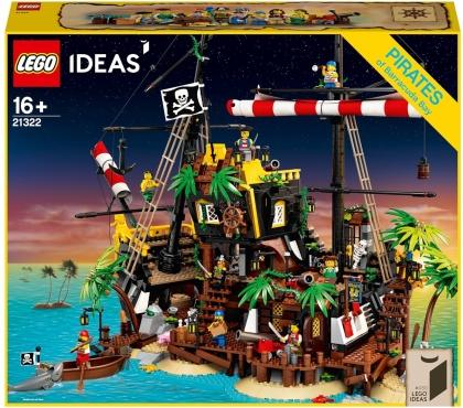 LEGO 21322 Ideas - Piraten der Barracuda-Bucht