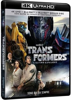 Transformers 5 - L'ultimo cavaliere (2017) (Riedizione, 4K Ultra HD + 2 Blu-ray)