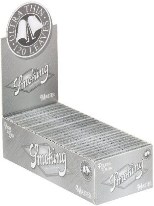 Smoking Master Regular Double Window Box - 25 Booklets