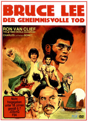 Bruce Lee - Der geheimnisvolle Tod (1993) (Cover A, Limited Edition, Mediabook, Remastered, Uncut, Blu-ray + DVD)
