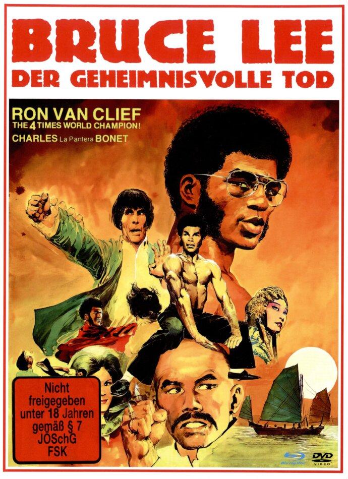 Bruce Lee - Der geheimnisvolle Tod (1993) (Cover A, Edizione Limitata, Mediabook, Versione Rimasterizzata, Uncut, Blu-ray + DVD)