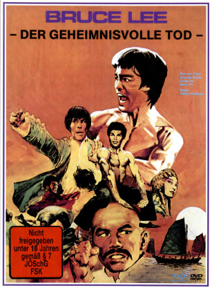 Bruce Lee - Der geheimnisvolle Tod (1993) (Cover B, Limited Edition, Mediabook, Remastered, Uncut, Blu-ray + DVD)
