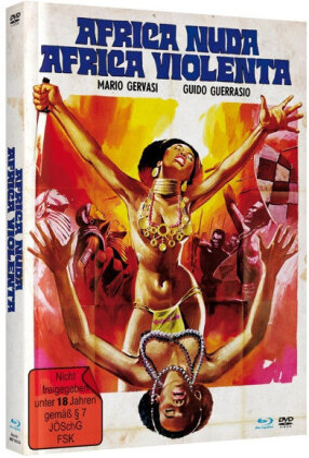 Africa Nuda, Africa Violenta (1974) (Cover A, Unzensiert, Limited Edition, Mediabook, Remastered, Uncut, Blu-ray + DVD)