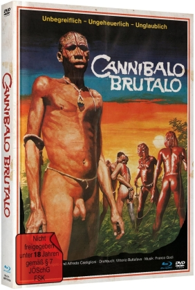 Cannibalo Brutalo (1978) (Limited Edition, Mediabook, Blu-ray + DVD)