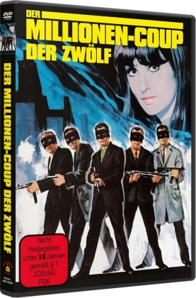 Der Millionen-Coup der Zwölf (1967) (Cover A, Limited Edition)