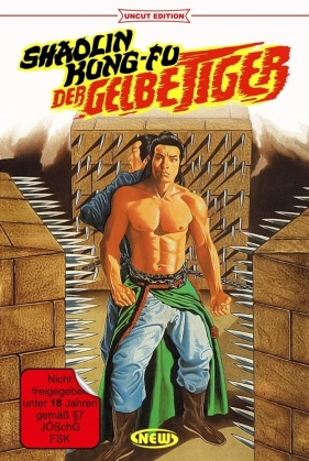 Shaolin Kung Fu - Der gelbe Tiger (1977) (Hartbox, Limited Edition, Uncut)