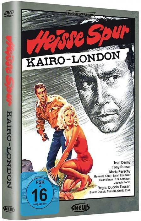 Heisse Spur Kairo-London (1964) (Hartbox, Edizione Limitata)