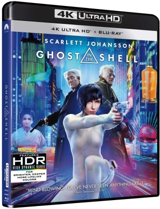 Ghost in the Shell (2017) (Neuauflage, 4K Ultra HD + Blu-ray)