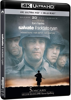 Salvate il Soldato Ryan (1998) (20th Anniversary Edition, 4K Ultra HD + 2 Blu-rays)