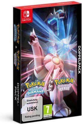 Pokémon Strahlender Diamant und Pokémon Leuchtende Perle - Doppelpack