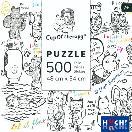 Cup of Therapy - 500 Teile Puzzle
