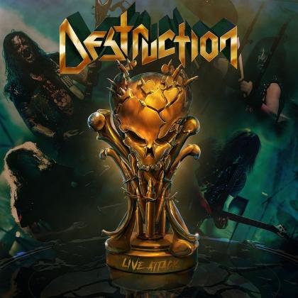 Destruction - Live Attack (2 CDs + Blu-ray)