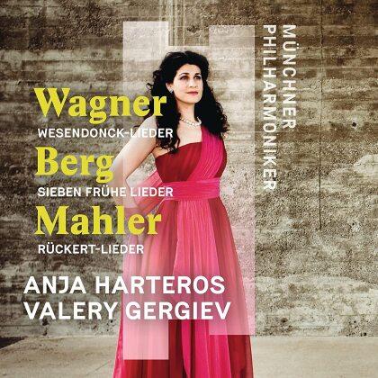 Richard Wagner (1813-1883), Alban Berg (1885-1935), Gustav Mahler (1860-1911), Valery Gergiev, Anja Harteros, … - Wesendonck-Lieder / Sieben Frühe Lieder