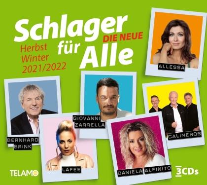 Schlager für Alle-Die Neue:Herbst/Winter 2021/2022 (3 CD)