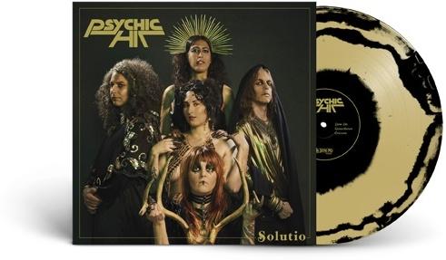 Psychic Hit - Solutio (Gold/Black Swirl Vinyl, LP)