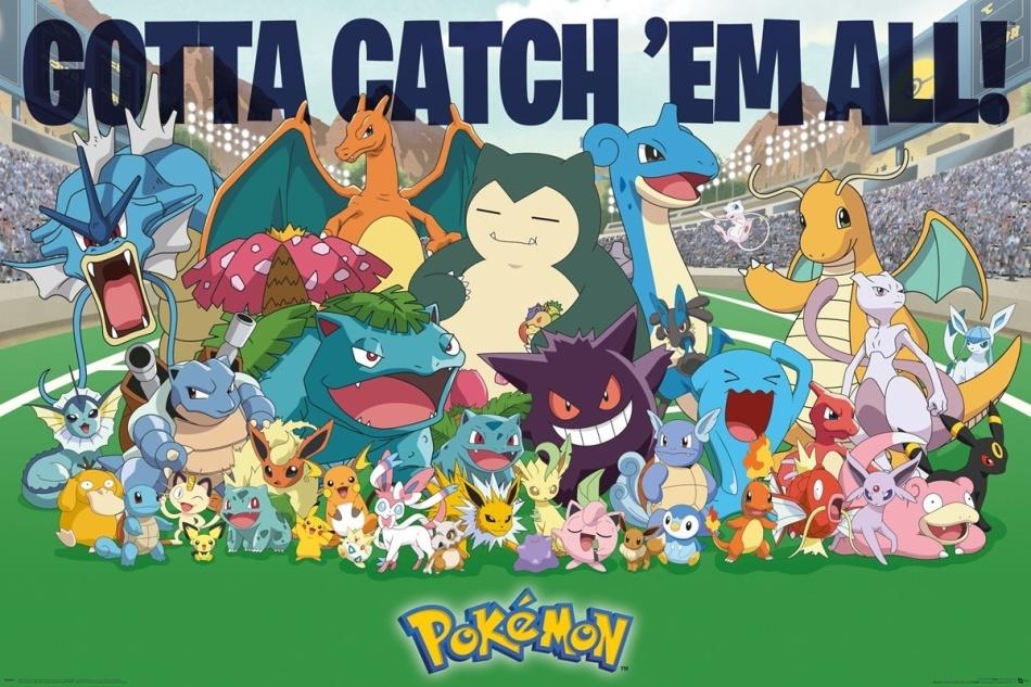 Pokémon: All Time Favourites - Poster