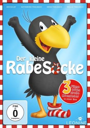 Der kleine Rabe Socke 1-3 (3 DVDs)