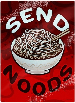 Send Noods - Small Chopping Board