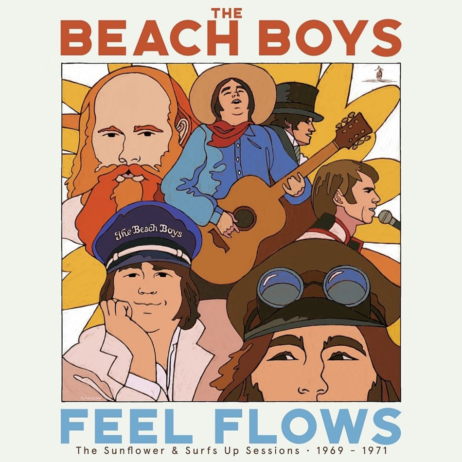 """The Beach Boys - """"Feel Flows"""" Sessions 1969-71 (Boxset, Limited Edition, 5 CDs)"""