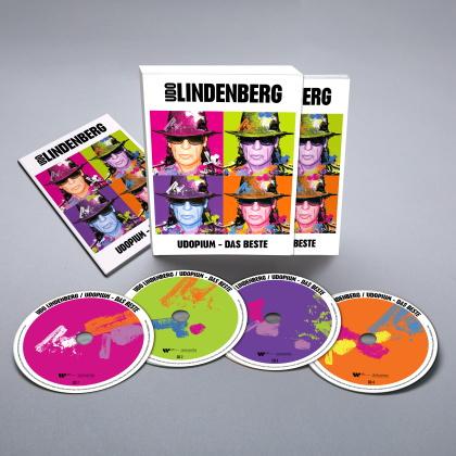 Udo Lindenberg - UDOPIUM-Das Beste (Standard Edition, 4 CDs)