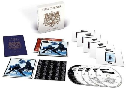Tina Turner - Foreign Affair (2021 Reissue, Deluxe Box Edition, Versione Rimasterizzata, 4 CD + DVD)