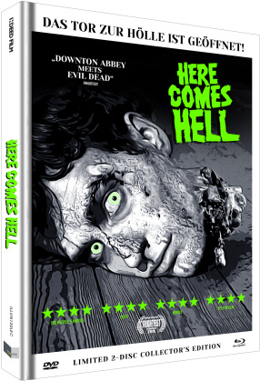 Here Comes Hell (2019) (Cover C, Collector's Edition Limitata, Mediabook, Uncut, Blu-ray + DVD)