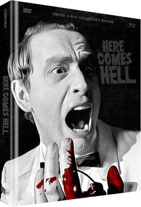 Here Comes Hell (2019) (Cover D, Collector's Edition Limitata, Mediabook, Uncut, Blu-ray + DVD)