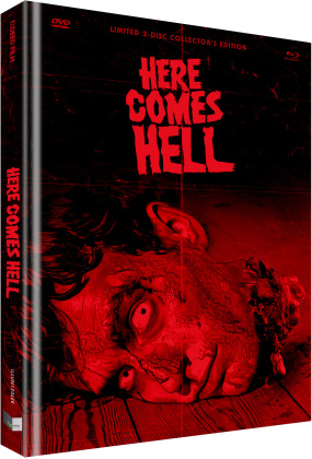 Here Comes Hell (2019) (Cover E, Limited Collector's Edition, Mediabook, Uncut, Blu-ray + DVD)