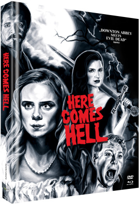 Here Comes Hell (2019) (Cover A, Collector's Edition Limitata, Mediabook, Uncut, Blu-ray + DVD)