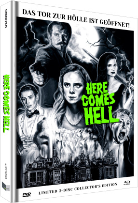 Here Comes Hell (2019) (Cover B, Limited Collector's Edition, Mediabook, Uncut, Blu-ray + DVD)