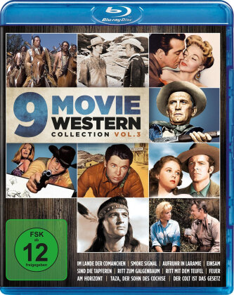 9 Movie Western Collection - Vol. 3 (3 Blu-rays)