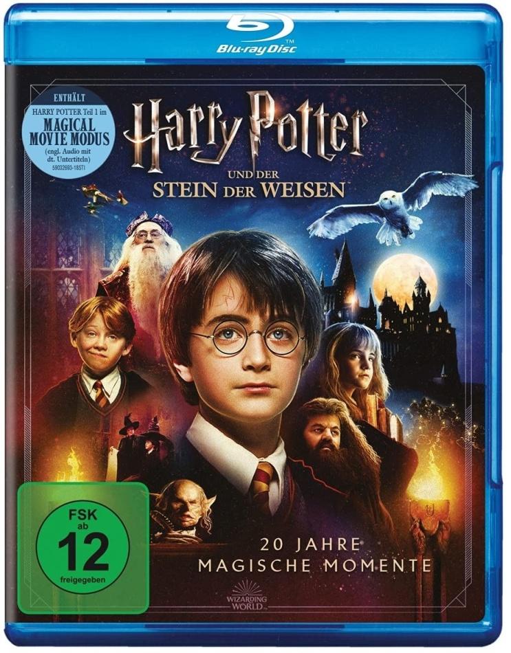 Harry Potter und der Stein der Weisen - Magical Movie Mode (2001) (Jubiläumsedition, 2 Blu-rays)