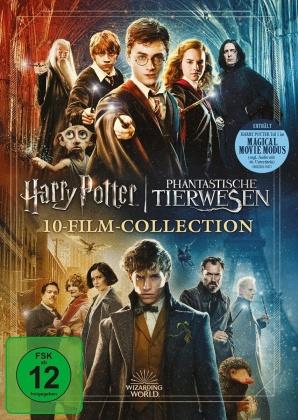 Harry Potter / Phantastische Tierwesen - Wizarding World - 10-Film Collection - Magical Movie Mode (Jubiläumsedition, 11 DVDs)