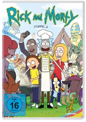 Rick and Morty - Staffel 2 (Neuauflage, 2 DVDs)