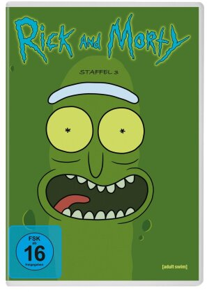 Rick and Morty - Staffel 3 (Neuauflage, 2 DVDs)
