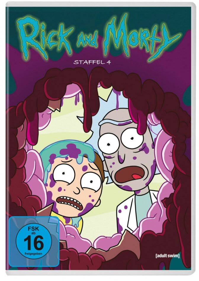 Rick and Morty - Staffel 4 (2 DVDs)