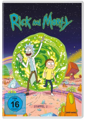 Rick and Morty - Staffel 1 (Neuauflage, 2 DVDs)