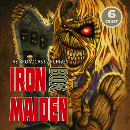 Iron Maiden - The Broadcast Archives Box (6 CDs)