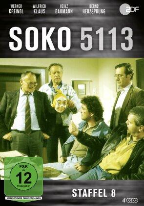 SOKO 5113 - Staffel 8 (4 DVDs)