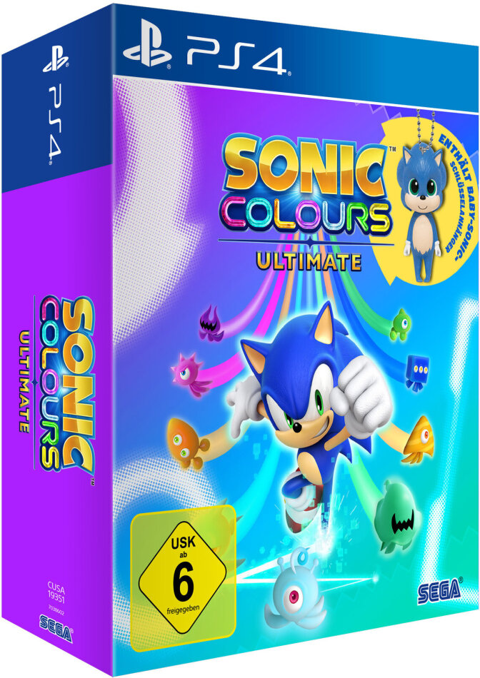 Sonic Colours - Ultimate Launch Edition (German Edition)