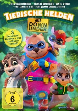 Tierische Helden aus Down Under - Der Wunschtraumbaum / Plötzlich Superheldin - Combat Wombat / Wettkampf der Tiere - Daisy Quokkas grosses Abenteuer (3 DVDs)