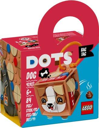 Taschenanhänger Hund - Lego Dots, 84 Teile,